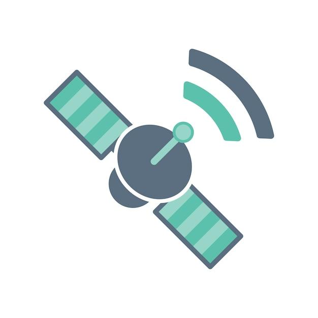 Illustration Du Satellite Vecteur gratuit
