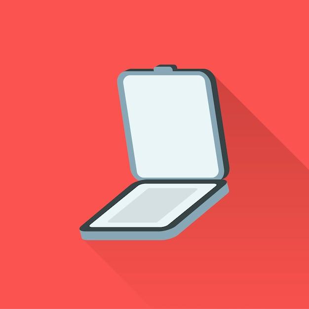 Illustration Du Scanner Vecteur gratuit