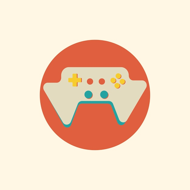 Illustration du vecteur de la console de jeu Vecteur gratuit