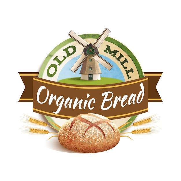 Illustration D'étiquette De Boulangerie Vecteur gratuit