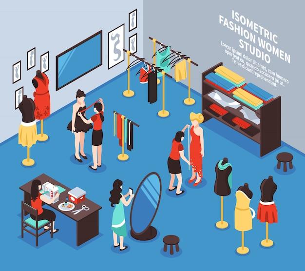 Illustration de fond d'atelier Vecteur gratuit