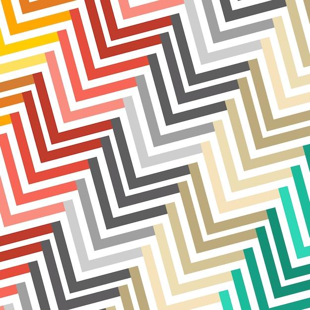 Illustration géométrique multicolore abstraite et multicolore illustration vectorielle Vecteur gratuit