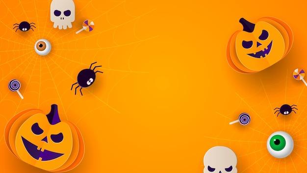 Illustration D'halloween Vecteur Premium