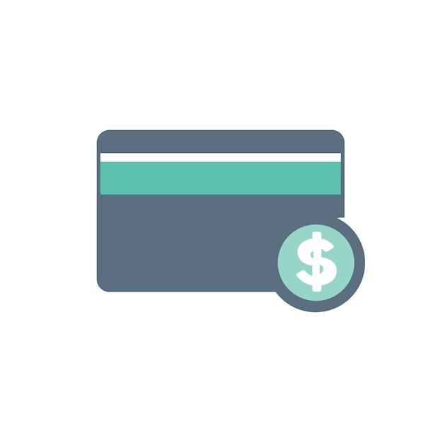 Illustration de l'icône de la carte de crédit Vecteur gratuit