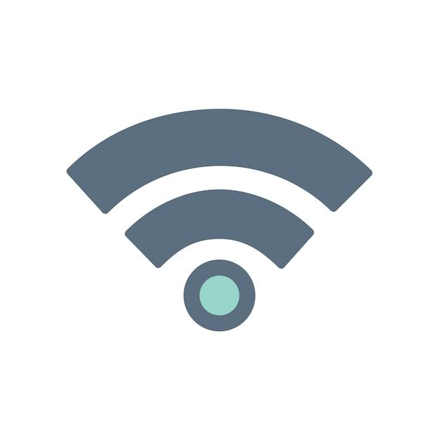 Illustration De L'icône De Signal Vecteur gratuit