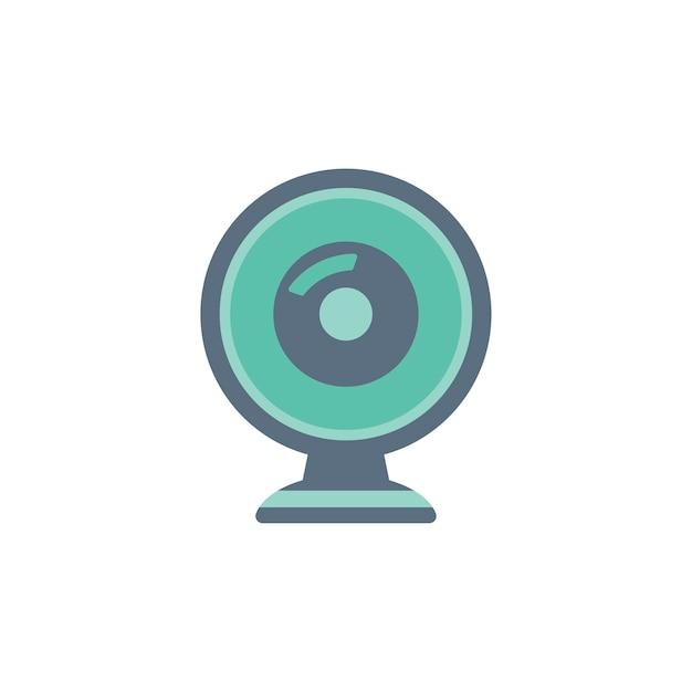Illustration de l'icône de la webcam Vecteur gratuit