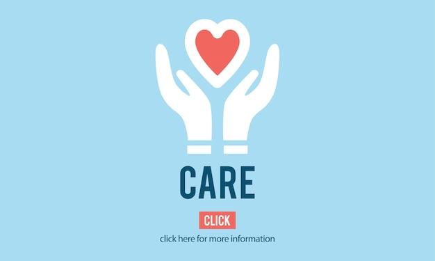 Illustration des icônes de soutien de don Vecteur gratuit