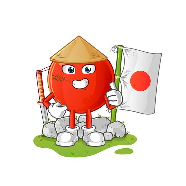 Illustration Japonaise De Cerise Vecteur Premium