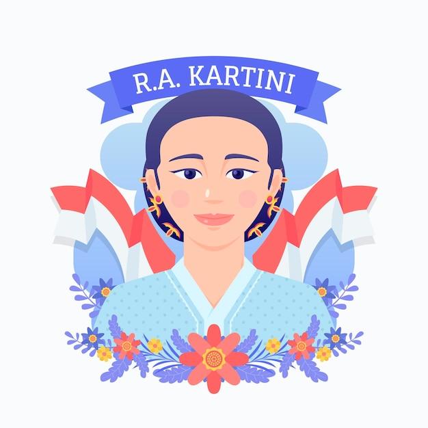 Illustration De Jour Kartiny Avec Vecteur gratuit