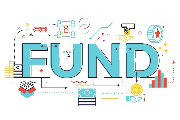 Illustration de lettrage de mot de fonds Vecteur Premium