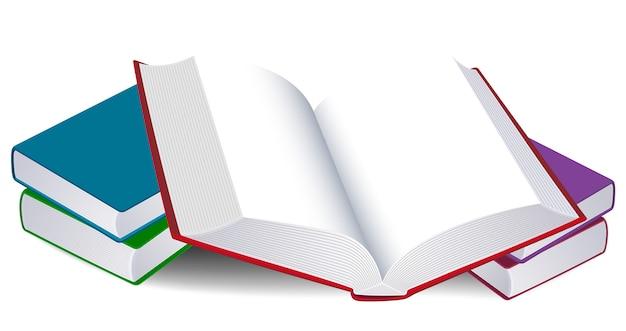 Illustration D Un Livre Ouvert Telecharger Des Vecteurs