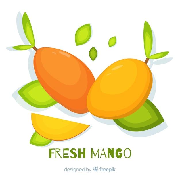 Illustration de mangue dessinée à la main Vecteur gratuit