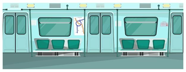 Illustration de métro Vecteur gratuit