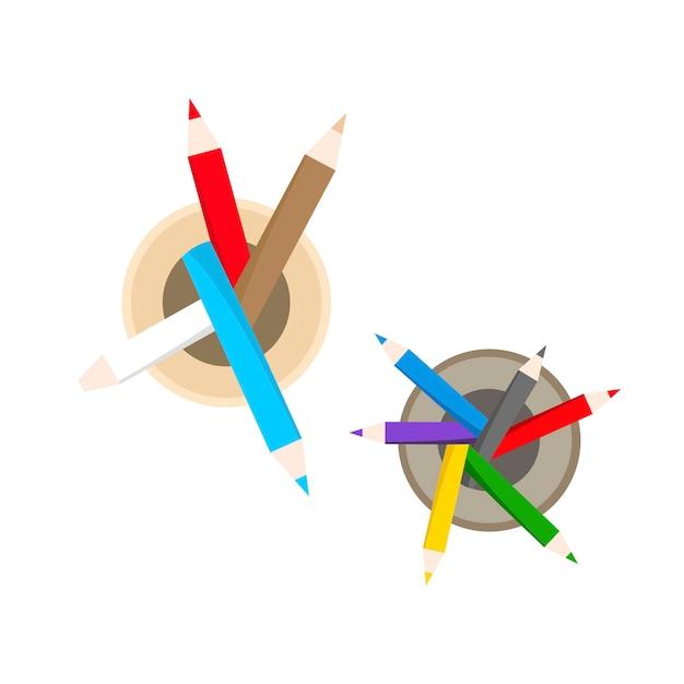Illustration de papeterie Vecteur gratuit
