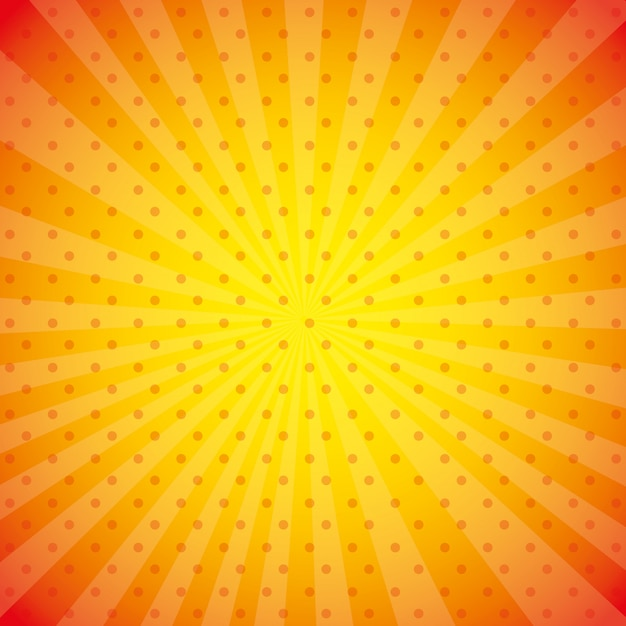 Illustration de papier peint orange Vecteur gratuit