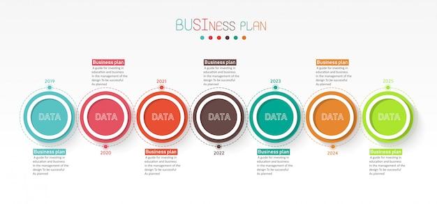 Illustration peut être utilisé pour le processus, les présentations Vecteur Premium
