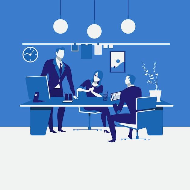 Illustration De La Planification Du Travail Vecteur Premium