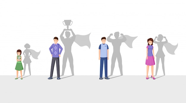 Illustration Plate De Champions Vecteur Premium