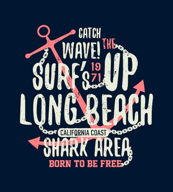 Illustration De Requin Dangereux Avec Une Faute De Frappe Vecteur Premium