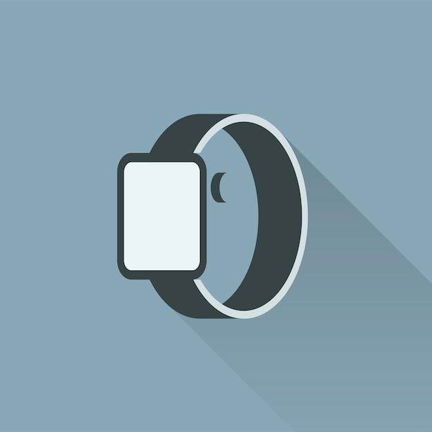 Illustration de smartwatch Vecteur gratuit