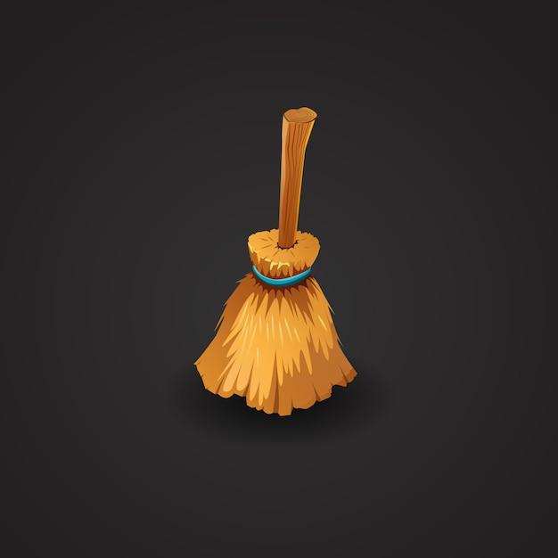 Illustration Vectorielle Broom Vecteur gratuit