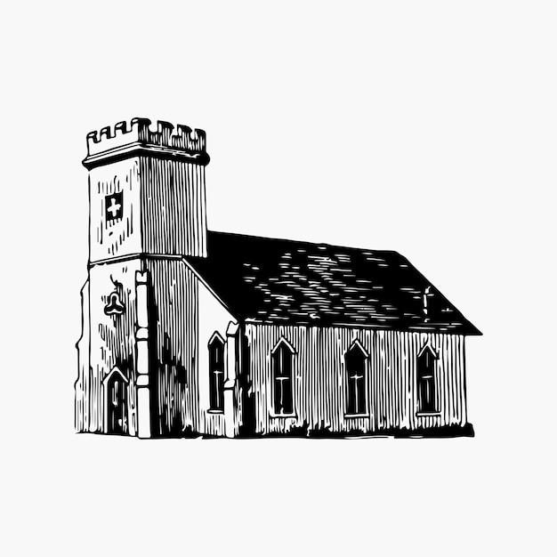Illustration vectorielle église saint-marc Vecteur gratuit