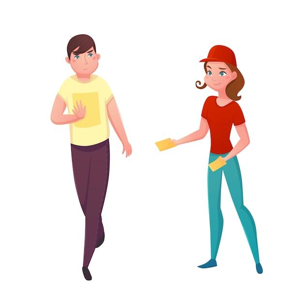 Illustration vectorielle de flyer promotion Vecteur gratuit