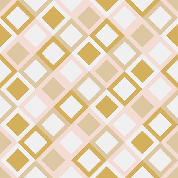 Illustration vectorielle géométrique au carré Vecteur gratuit