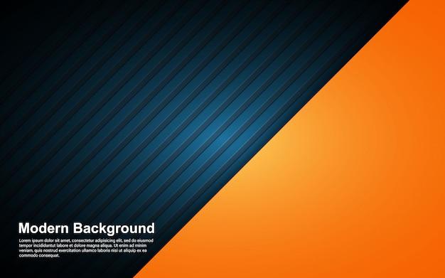 Illustration Vectorielle Graphique De Couleur De Dégradés Abstrait Noir Et Hipster Vecteur Premium