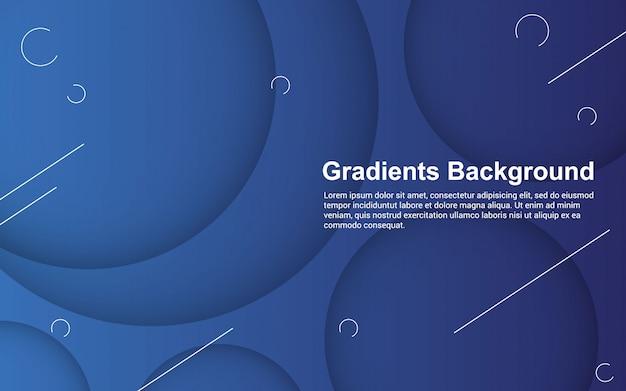 Illustration Vectorielle Graphique De Couleur De Dégradés De Fond Abstrait Vecteur Premium