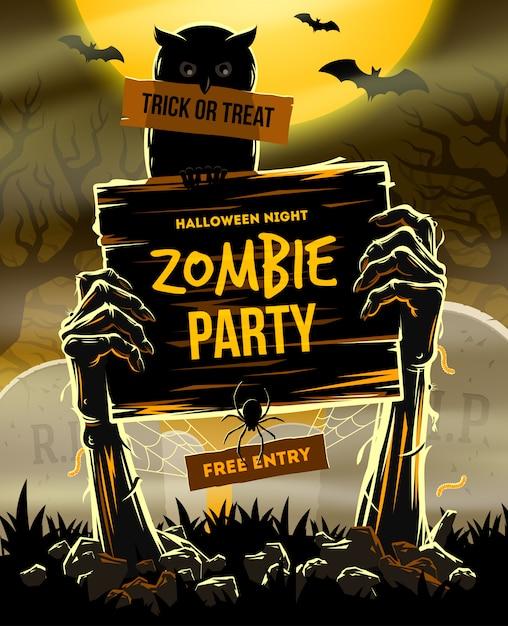 Illustration Vectorielle Halloween Vecteur Premium