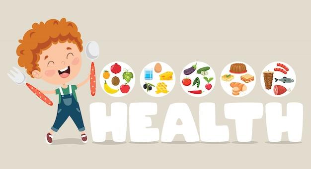 Illustration vectorielle médical et des soins de santé Vecteur Premium