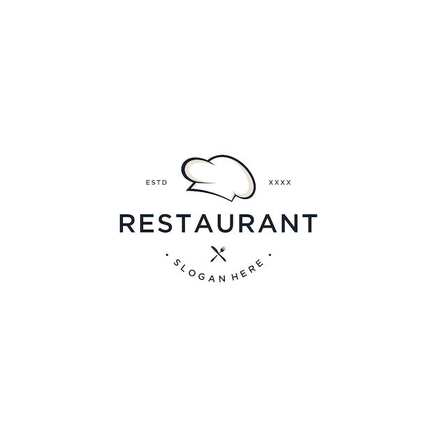 Illustration Vectorielle De Restaurant Logo Design Vecteur Premium