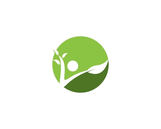Illustration vectorielle de santé vie logo Vecteur Premium