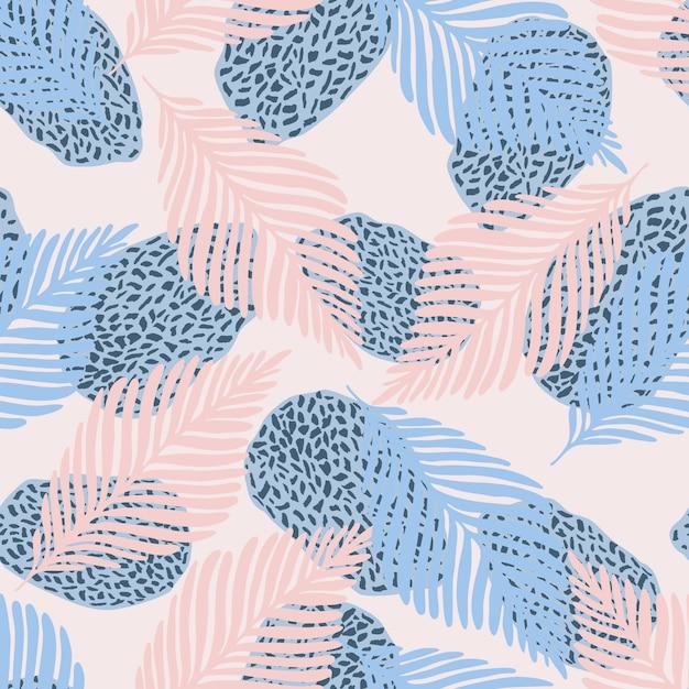 Illustration vectorielle de style moderne abstrait art contemporain Vecteur Premium