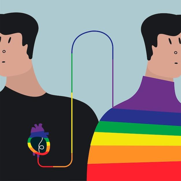 Illustration vectorielle de transfusion sanguine colorée Vecteur gratuit