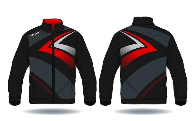 Illustration vectorielle de la veste de sport Vecteur Premium