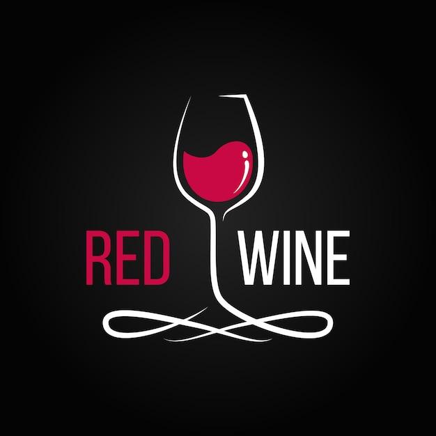 Illustration de vin rouge Vecteur Premium