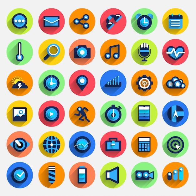 Illustrations de marketing numérique Vecteur Premium