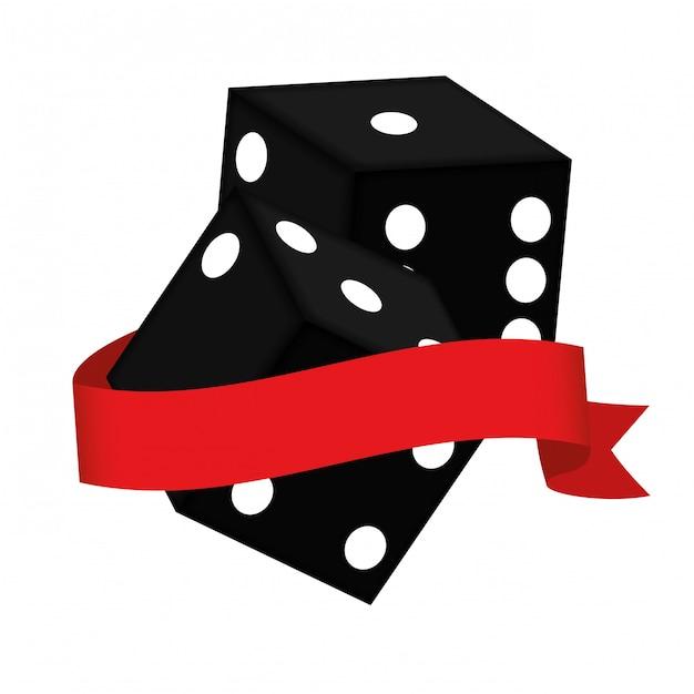 Image clipart liée au casino Vecteur gratuit