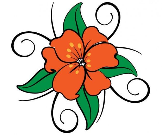 Image vectorielle Fleur Vecteur gratuit