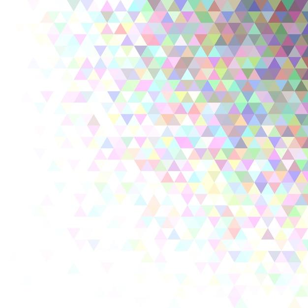 Impression De Fond Abstrait Triangle Vecteur gratuit