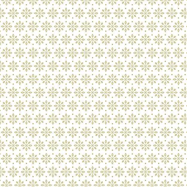 Impression De Fond Transparente Fleurs Géométriques Classiques Vecteur Premium