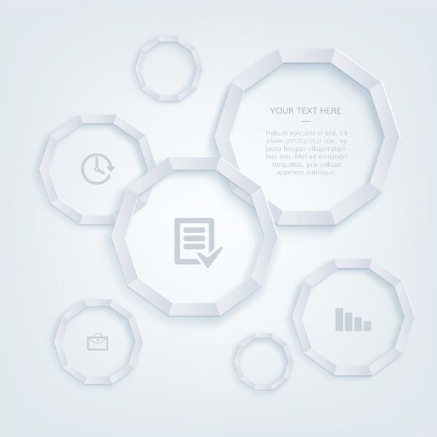 Infographie et les ic nes de bureau mod le t l charger for Exemple de bureau
