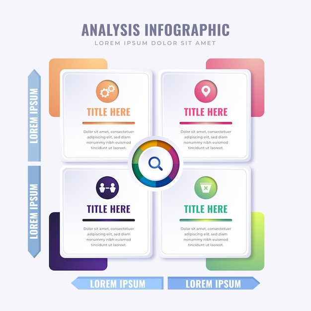 Infographie Graphique Matricielle Vecteur gratuit