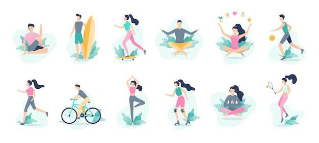 Infographie De Mode De Vie Sain. Sport Et Fitness, En Bonne Santé Vecteur Premium