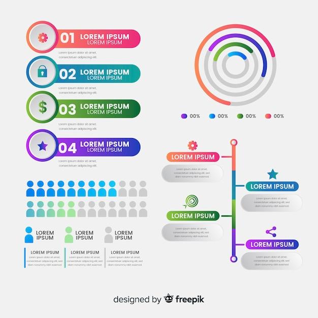 Surréaliste Infographie de pictogramme | Télécharger des Vecteurs gratuitement WZ-38