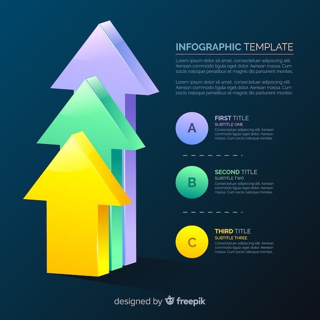 Infographie Vecteur gratuit