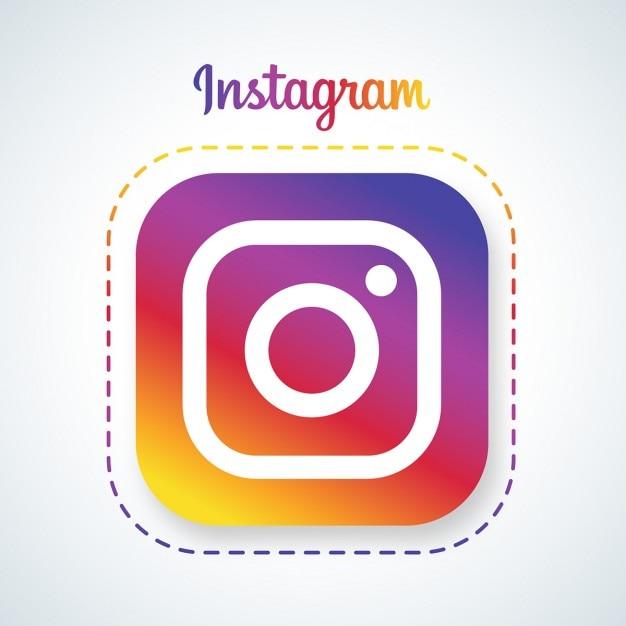 logo instagram sur photo