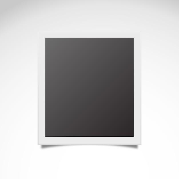 Instantané polaroid vecteur libre Vecteur gratuit
